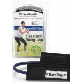 Tubo elastico Thera-Band TUBING per polsi o caviglie col. blu